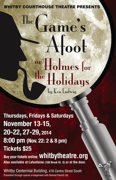 The Game's Afoot and Holmes for the Holidays